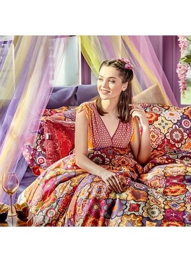 Bella Maison Moroccan Çift Kişilik Nevresim Mor